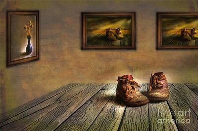 Mementos Exhibition Art Print by Veikko Suikkanen