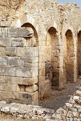 Memmian Baths, Roman Ruins Of Bulla Art Print