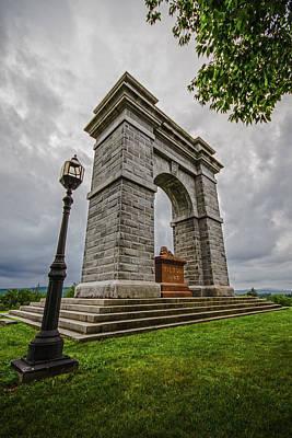 Photograph - Memorial Arch Of Tilton by Robert Clifford