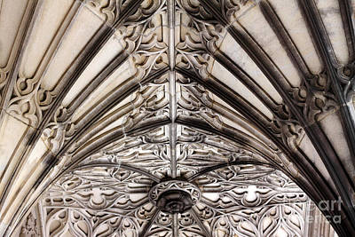 Photograph - Memorial Archway Ceiling by Charline Xia