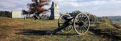 Gettysburg Photograph - Memorial At Gettysburg National by Panoramic Images