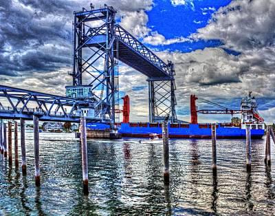 Photograph - Memorial Bridge 034 by Jeff Stallard