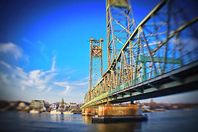Memorial Bridge, Portsmouth, New Art Print by Jerry and Marcy Monkman