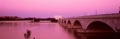 Memorial Bridge, Washington Dc Art Print by Panoramic Images