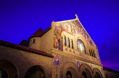 Stanford University Photograph - Memorial Church Stanford University by Scott McGuire