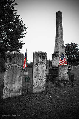 Black White Photograph - Memorial Day by Ross Henton