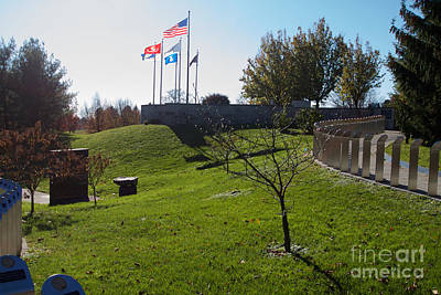 Photograph - Memorial Flag by William Norton