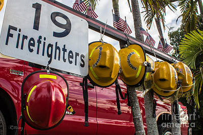 Photograph - Memorial For The Brave 19 Firefighters by Rene Triay Photography