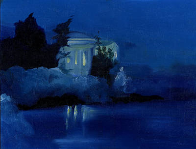 Jefferson Memorial Painting - Memorial I by Neal Cormier