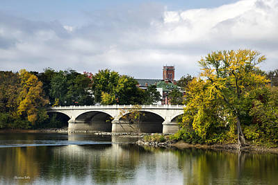 Photograph - Memorial St. Bridge Binghamton Ny by Christina Rollo