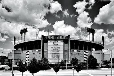 Memorial Stadium Art Print