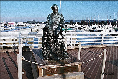 Anne Geddes Collection - Memorial Statue on Fishermans Warf by Christopher Bage