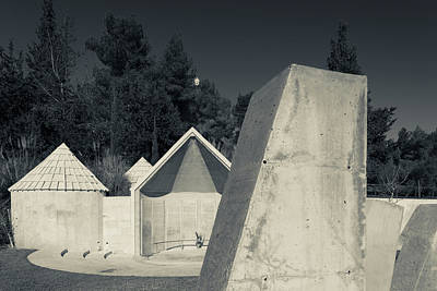 Ethiopian Photograph - Memorial To Ethiopian Jews Who Perished by Panoramic Images