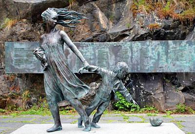 Memorial To The Scandinavian Star Original by Laurel Talabere