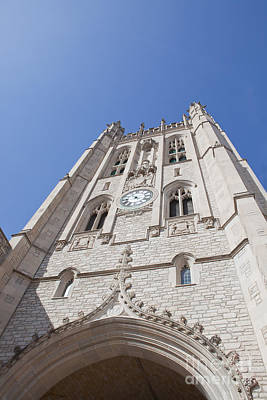 Photograph - Memorial Union Clock Tower by Kay Pickens