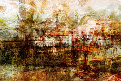 Art Print featuring the mixed media Memories #1 by Sandy MacGowan