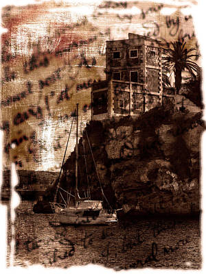 Memories By The Sea Art Print by Pedro Cardona