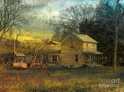 Dilapidated Mixed Media - Memories Galore by R Kyllo