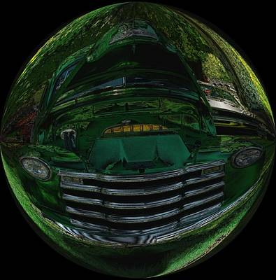 Old Trucks Photograph - Memories In A Bubble by Jeff Swan