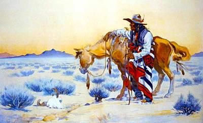Western Art Digital Art - Memories by Keppler  Schwarzmann