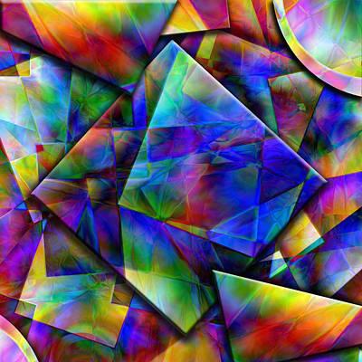 Kandinsky Mixed Media - Memories by Mark Compton