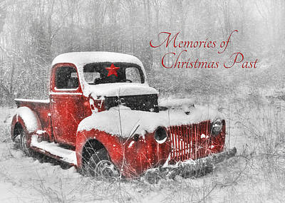 Wintry Mixed Media - Memories Of Christmas Past by Lori Deiter