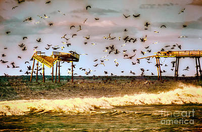 Memories Of Frisco Pier - Outer Banks II Art Print