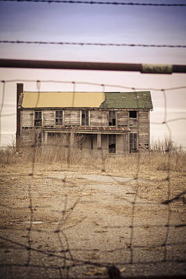 Abandoned Photograph - Memories Of Home 3 by Angie Harris