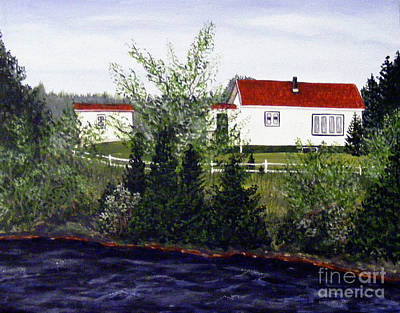 Memories Of Home  Print by Barbara Griffin