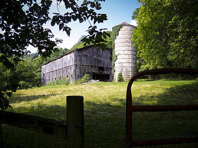 Photograph - Memories Of Peak's Mill - II by Wayne Stacy
