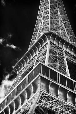 Of Artist Photograph - Memories Of The Eiffel Tower by John Rizzuto