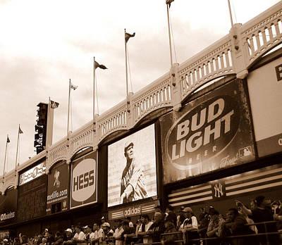 Yankee Stadium Photograph - Memories Of The Frieze by Aurelio Zucco