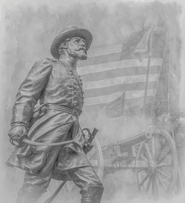 Infantry Digital Art - Memories Of The Gettysburg Battle by Randy Steele