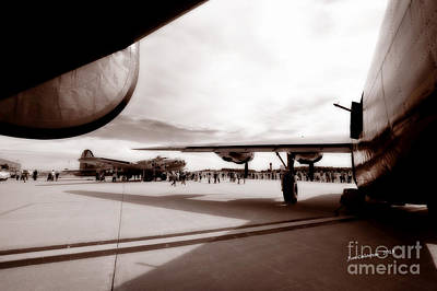 Brown Tones Photograph - Memories Of The Greatest Generation by Jim  Calarese