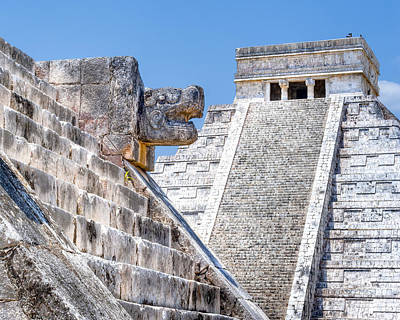Mayan Photograph - Memories Of The Maya At Chichen Itza by Mark E Tisdale