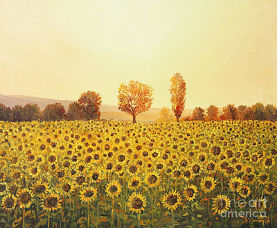 Memories Of The Summer Art Print by Kiril Stanchev