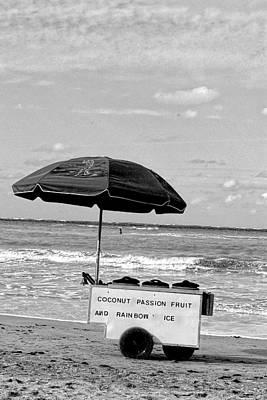 Memories Of Tropical Sherbet Vendors Original by Sandra Pena de Ortiz