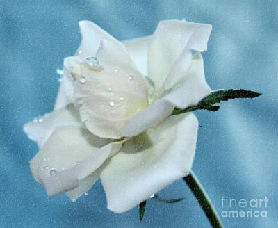 White Flower Photograph - Memories Of Us by Krissy Katsimbras