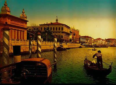 Memories Of Venice No 1 Art Print by Douglas MooreZart