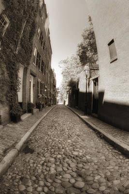 Photograph - Memories On Acorn Street by Joann Vitali