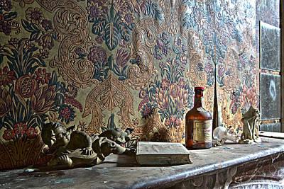 Memories On The Chimney Art Print