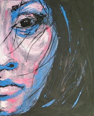 Memories - Portrait Of A Woman Original by Carmen Tyrrell
