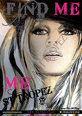 Bardot Photograph - Memory Find Me by Una St Tropez