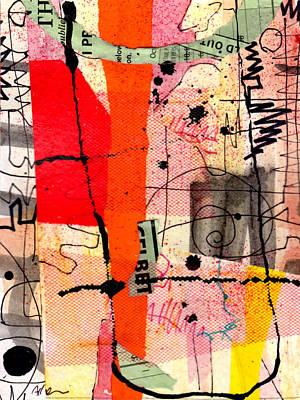 Memory Marks Art Print