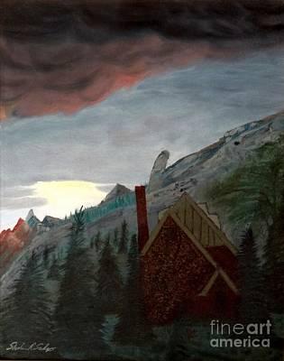 Painting - Memory Of Jonbenet Ramsey by Stephen Schaps
