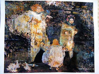 Painting - Memory Reordered by Nancy Kane Chapman