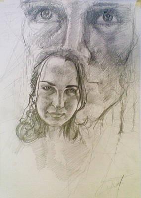 Drawing - Memory by Vaidos Mihai