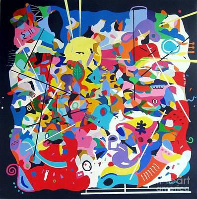 Avant Garde Mixed Media - Memory by Venus