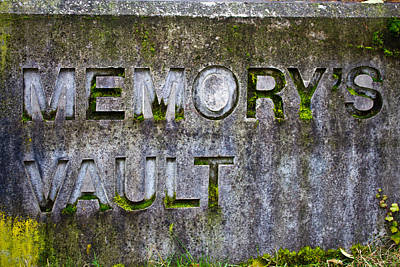 Photograph - Memory's Vault by Marie Jamieson