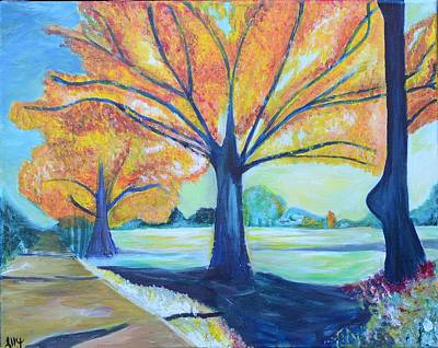 Ally Painting - Memphis Backroad by Ally Perkins